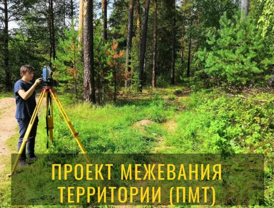 Проект межевания территории (ПМТ)