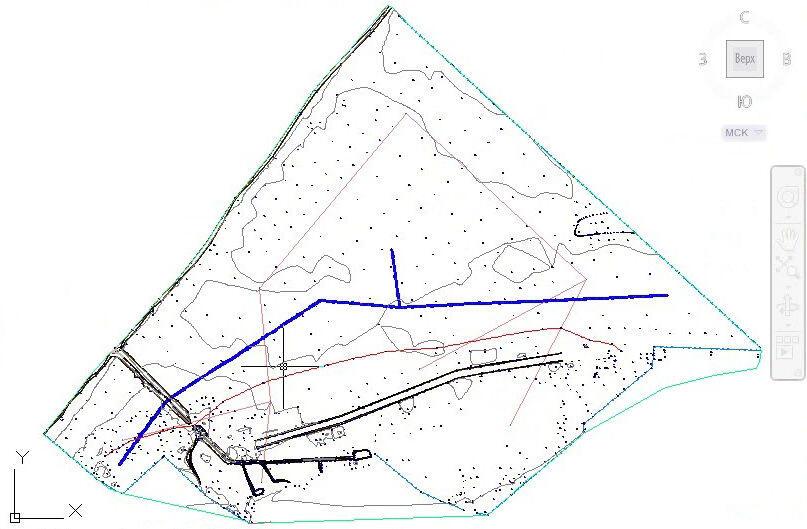 Геодезический план участка в Балашихе и Балашихинском районе